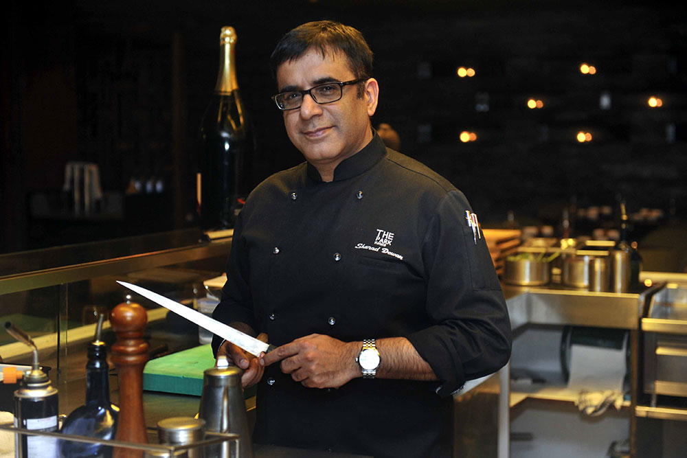 Interview With :   Sharad Dewan, Chef speaks on the Gout De France festival