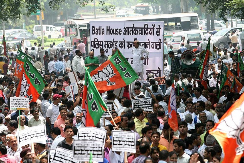 Outlook India Photogallery - BJP