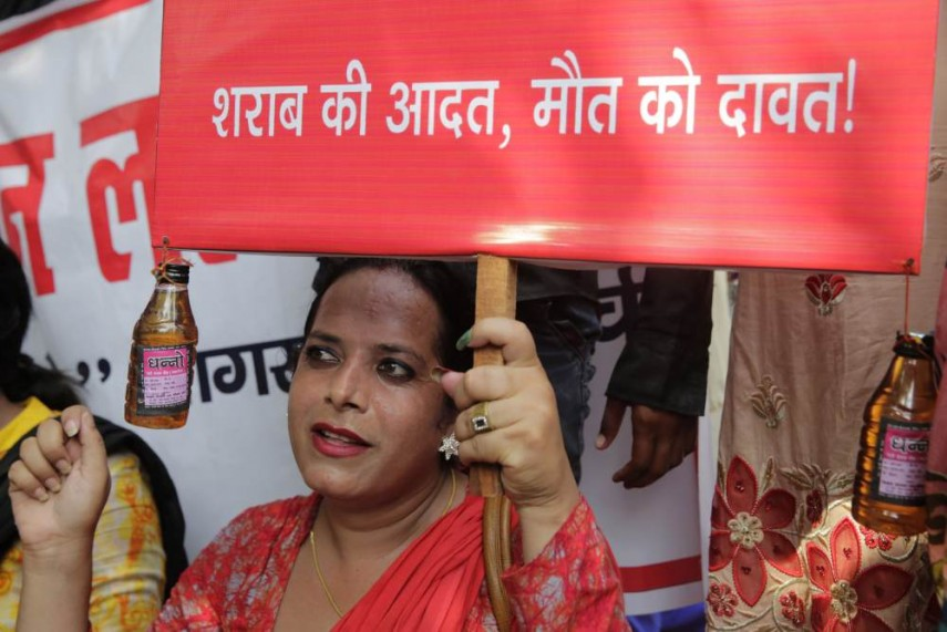 Image result for bihar alcohol ban