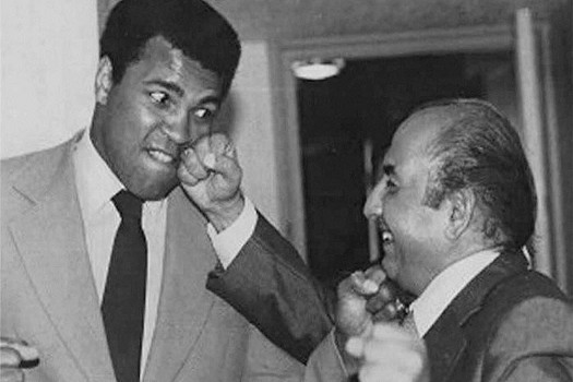 When Muhammad Ali Visited India