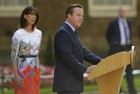 Cameron Leaves Downing Street for Last Time as PM