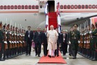 Modi Arrives in Laos to Attend ASEAN, East Asia Summits
