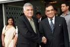 Lankan PM Wickramasinghe Arrives in India on Three Day Visit