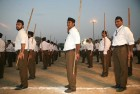 RSS Does Away With Khaki Shorts, Dons Trousers