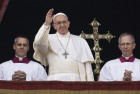 Palestinian Leader Meets With Pope Ahead Of Paris Summit