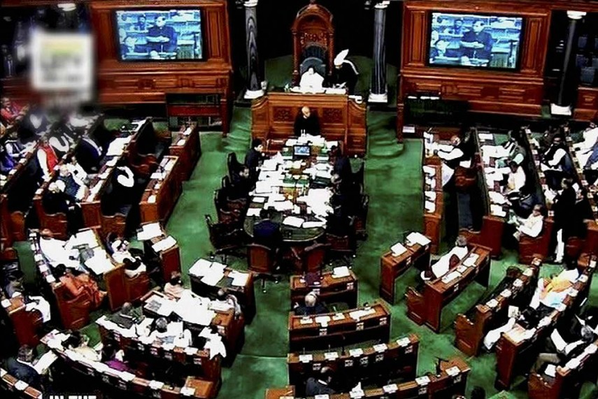 Opposition Stage Walkout In Lok Sabha Against Efforts to Form BJP Govts in Goa, Manipur