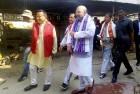 Amit Shah, Naidu Not to Attend Biren Singh's Swaring In After Plane Develops Engine Snag