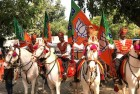 BJP Flag Hoisted In School to Celebrate UP Win, Probe Ordered