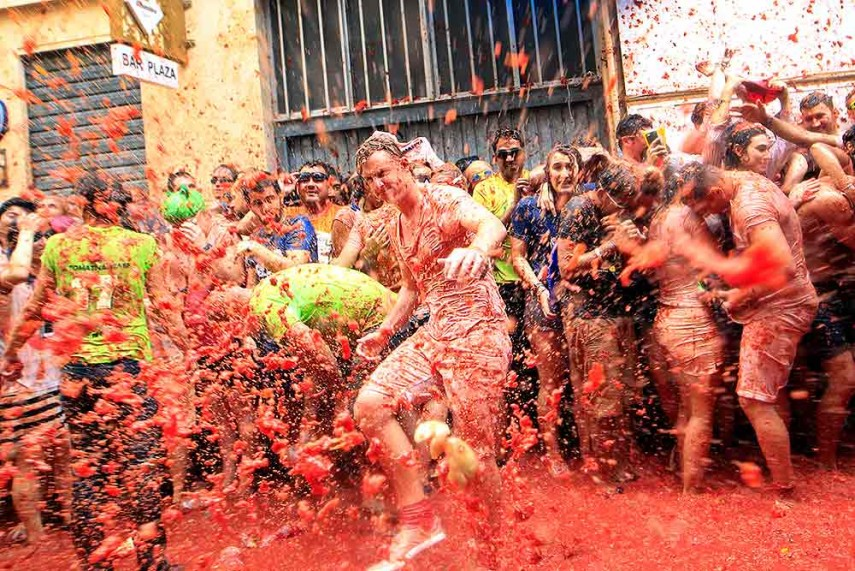 tomatina festival essay The russ celebration essay  one of the most important events in the spanish society is the grand tomatina festival, where participants throw tomatoes at each .