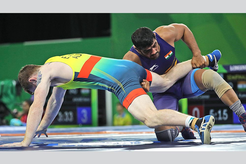 Outlook India Photo Gallery - Sushil Kumar