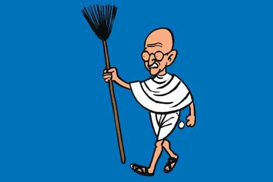 Gandhi's Spectacles