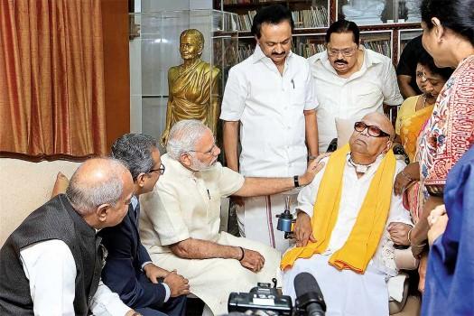 M. Karunanidhi