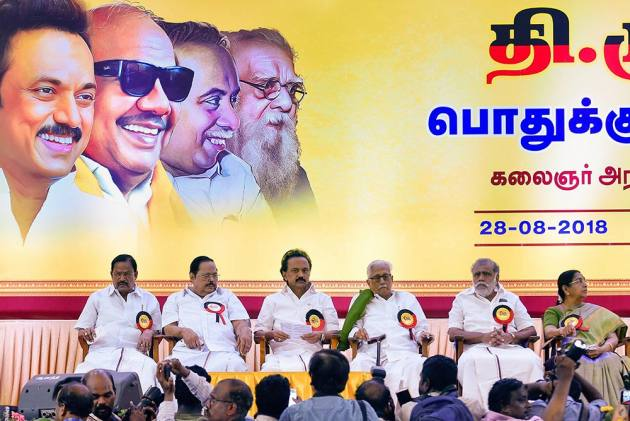 As DMK Chief, Stalin Has To Keep His Flock Together