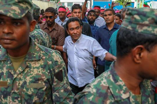 India Puts Plans On Hold As Maldives Goes To Polls