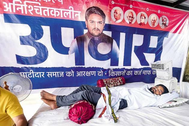 BJP Deploys Old Tactics To Stop Hardik Patel's Hunger Strike