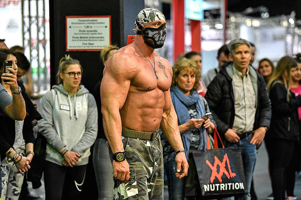 Outlook India Photo Gallery - Photos: FIBO Fitness Trade Show In Germany