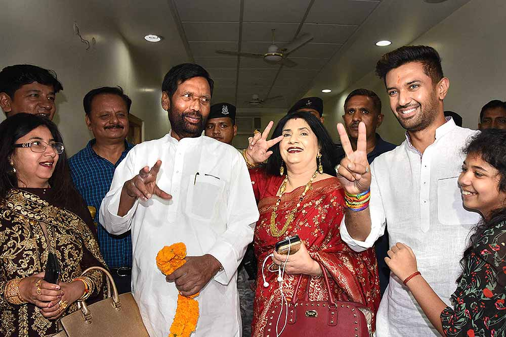 Outlook India Photo Gallery Ram Vilas Paswan
