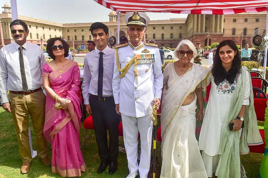 Outlook India Photogallery - Navy