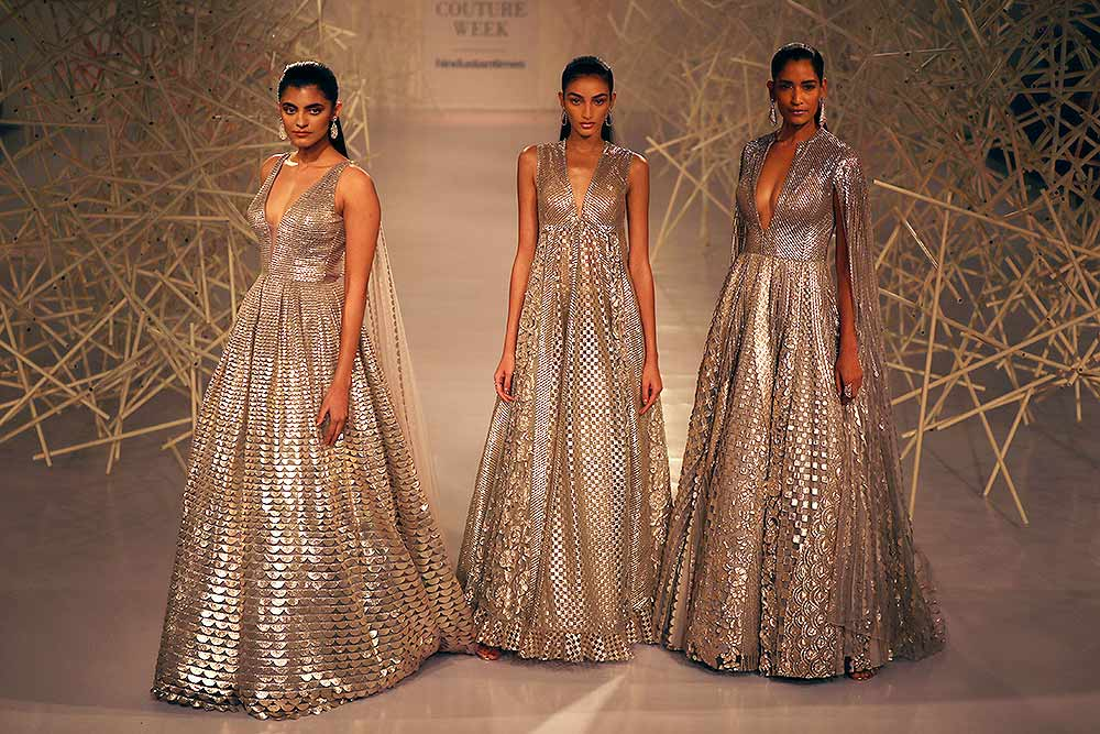 Outlook India Photo Gallery In Pics India Couture Week 2019