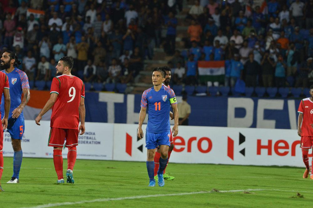 Outlook India Photo Gallery - India Vs Oman, 2022 FIFA World Cup Qualifier: Despite Sunil ...