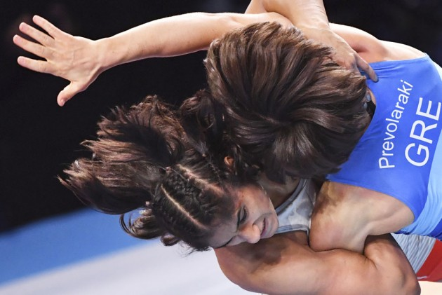Outlook India Photo Gallery - World Wrestling Championships 2019: Vinesh Phogat Books Tokyo 2020 Olympics Berth With Bronze Medal