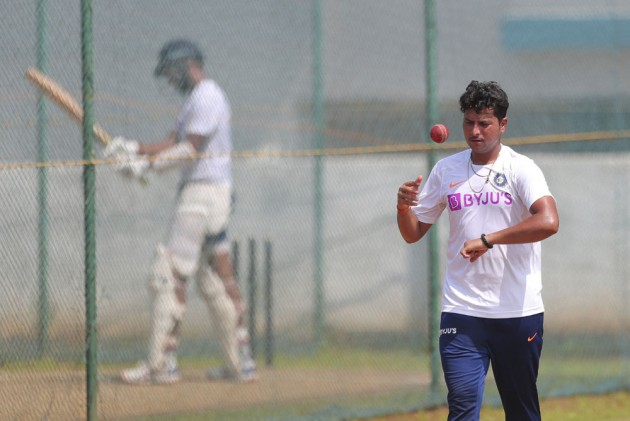Outlook India Photo Gallery - Visakhapatnam Test: India Gear Up For South Africa Challenge