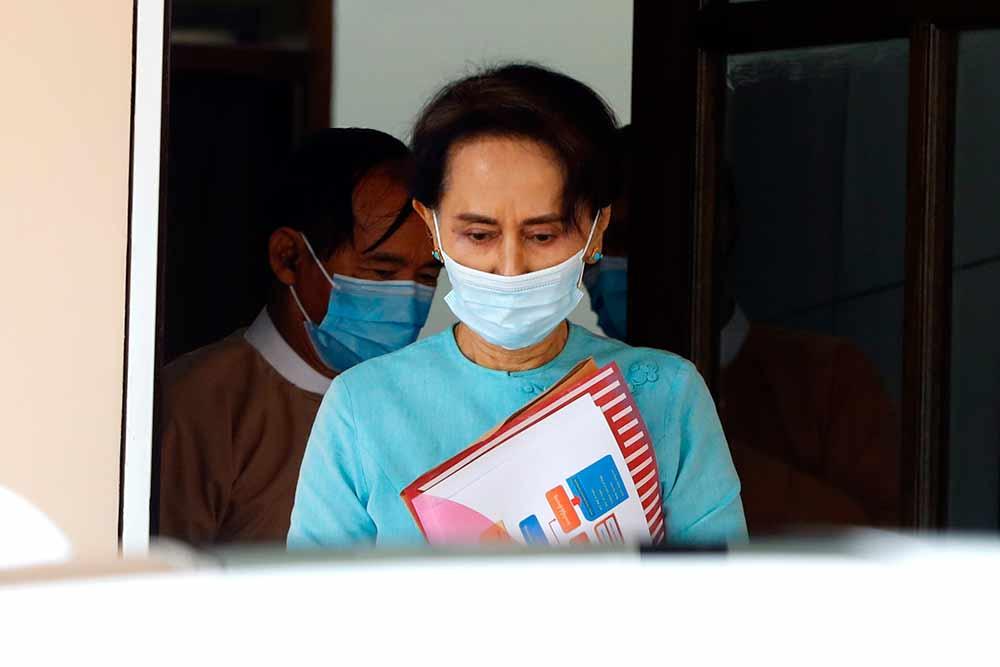 Outlook India Photo Gallery - Aung San Suu Kyi