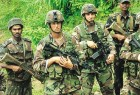 An Indo-US joint military exercise in Mizoram in '05