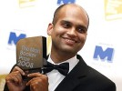 Man's reognition: Aravind Adiga after winning the Booker