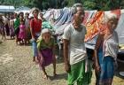 Riot victims at a relief camp at Udalgiri district, Assam
