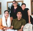 Their first lady: Benazir with (clockwise) daughters Bakhtawar & Asifa and son Bilawal