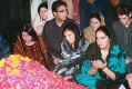 The Bhuttos paying their last respects to Benazir