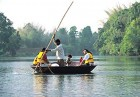 A boatride on the Cauvery in Coorg, Karnataka