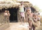 A farmer's family in Bolangir district, Orissa