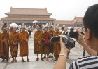Camera eye: Monks at the forbidden city