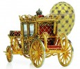 Crown jewels: The Coronation Egg, 1897, displays Catherine the Great's coach