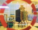 Space bound: The Chandrayaan-1 satellite at ISRO, Bangalore