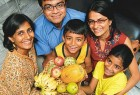 The Chhedas: A three-generation joint family from Mumbai, for them eating right is the key to good health. Their organic diet, which has cured their father's cardiac problem, puts emphasis on fruits and vegetables, sprouts and nuts and minimal oil