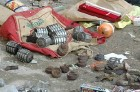 Instruments of death: The countrymade grenades seized in Kanpur