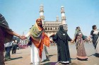 Chain reason: COVA activists join hands in Hyderabad in 2002 to prevent riots