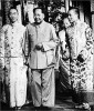 Past can be prologue: Panchen Lama, Chairman Mao Zedong (center) and the Dalai Lama (right) during a 1959 Beijing visit