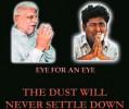 Revenge: The cover of the Delhi e-mail