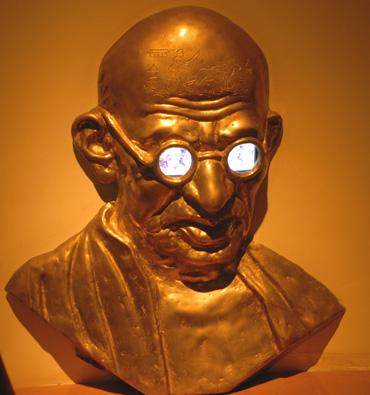 I Met Gandhi, And Then I Met Anti-Gandhi