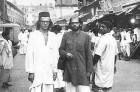 Ginsberg and Orlowski in Calcutta, 1962