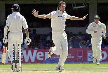 Aussie Seam Leaves India In Tatters