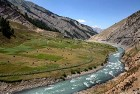 Barbed LoC border runs along river Kishanganga in Gurez valley