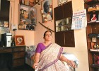 Himani Savarkar at her Pune home