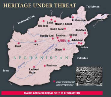 Major Archaeological Sites In Afghanistan
