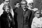 Indira, Mujibur Rehman in Delhi, 1972