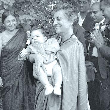 Image result for indira gandhi Rahul Gandhi